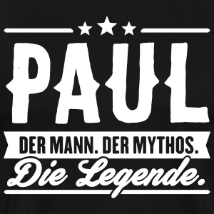 Man Myth Legend Paul - Men's Premium T-Shirt