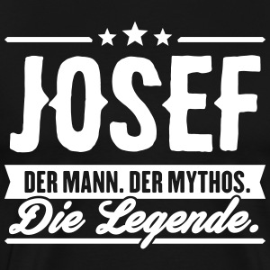 Man Myth Legend Josef - Men's Premium T-Shirt