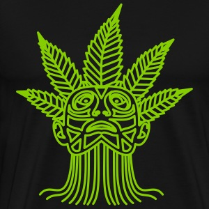 Hemp Maya - Premium T-skjorte for menn