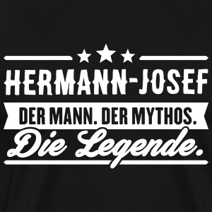 Man Myth Legend Hermann-Josef - Premium T-skjorte for menn