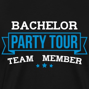 Bachelor Party Tour - Herre premium T-shirt
