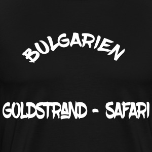 Bulgarije Golden beach Safari - Mannen Premium T-shirt