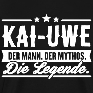 Man Myth Legend Kai-Uwe - Men's Premium T-Shirt