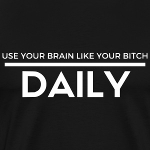 Use your brain - Men's Premium T-Shirt