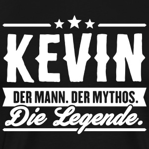 Man Myth Legend Kevin - Men's Premium T-Shirt