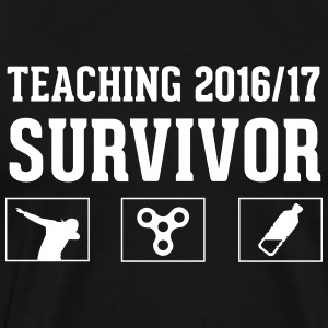 Teaching 2016 - 2017 Survivor - Men's Premium T-Shirt