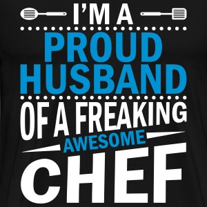 I'm a proud chefs husband - Men's Premium T-Shirt