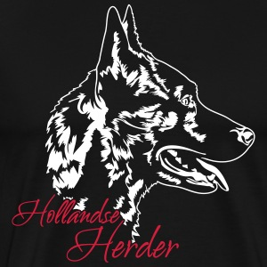 Dutch Shepherd - Premium-T-shirt herr
