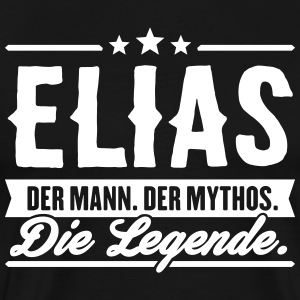 Man Myth Legend Elias - T-shirt Premium Homme