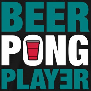 Beer Pong Player - Premium T-skjorte for menn