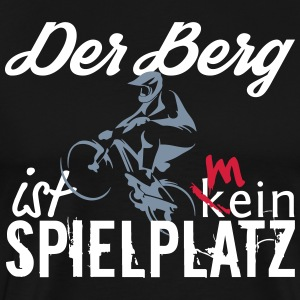 De berg is mijn speeltuin - Mannen Premium T-shirt
