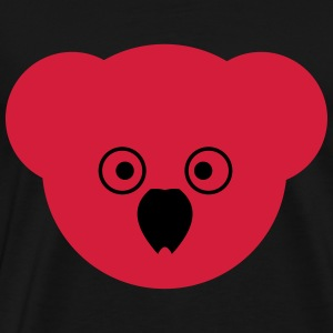 KOALA red - Men's Premium T-Shirt