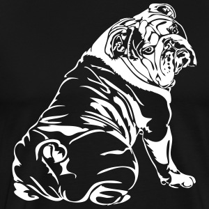 Bulldog Anglais - English Bulldog - T-shirt Premium Homme
