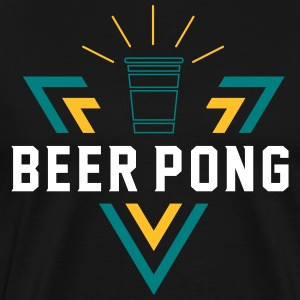Beer Pong Shining Triangle - Männer Premium T-Shirt