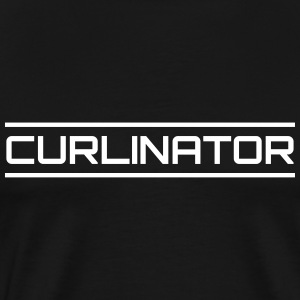 Curlinator - Men's Premium T-Shirt