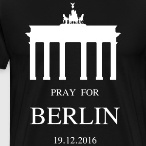 BERLIN mourns - Men's Premium T-Shirt