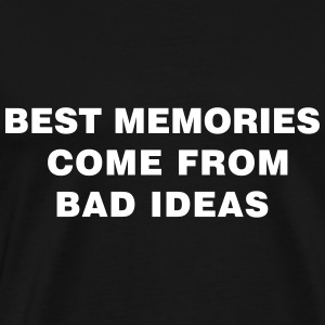 Bad Ideas - Premium T-skjorte for menn