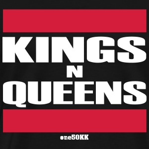Kings n Queens - Premium-T-shirt herr