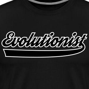 Evolutionist - Mannen Premium T-shirt