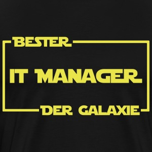 Bester IT-Manager der Galaxie - Männer Premium T-Shirt