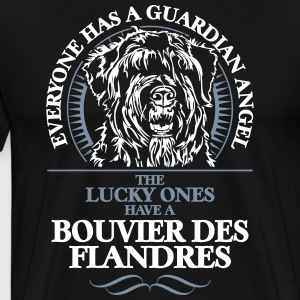 GUARDIAN ANGEL BOUVIER DES FLANDRES - Men's Premium T-Shirt