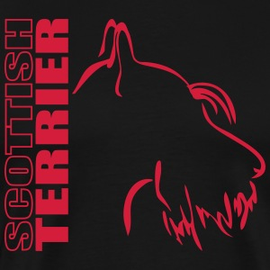PROFIL TERRIER SCOTTISH - T-shirt Premium Homme