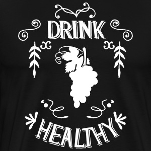 drink Healthy - Men's Premium T-Shirt