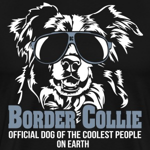 Border Collie Coolest People - Männer Premium T-Shirt