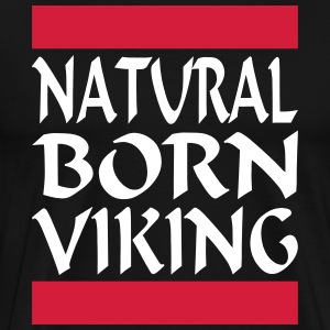 Natural Born Viking 2 - Mannen Premium T-shirt