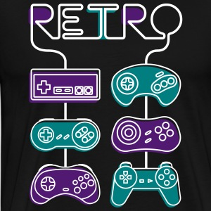 Retro gaming - Men's Premium T-Shirt