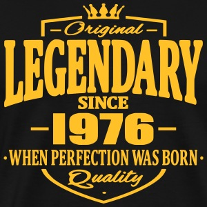 Legendary sedan 1976 - Premium-T-shirt herr
