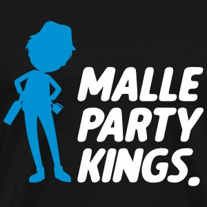 Malle party Kings - Herre premium T-shirt