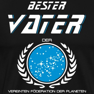 Best Father of the United Federation d planet - Men's Premium T-Shirt