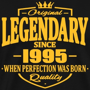 Legendary sedan 1995 - Premium-T-shirt herr