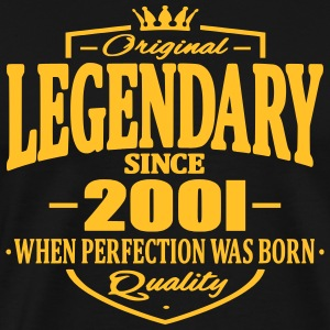 Legendary since 2001 - T-shirt Premium Homme