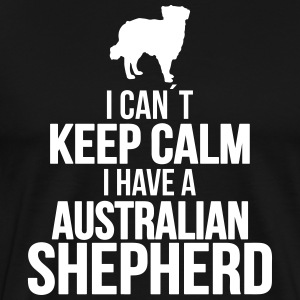 I can´t KEEP CALM Australian Shepherd - Männer Premium T-Shirt