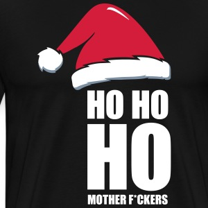 Adult Christmas Design, Ho Ho Ho - Men's Premium T-Shirt