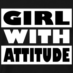Girl with attitude - Men's Premium T-Shirt