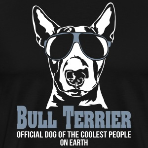 BULL TERRIER coolest people - Men's Premium T-Shirt