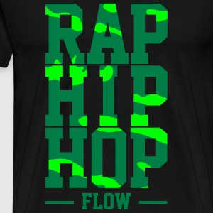 Rap Hip Hop Flow - Herre premium T-shirt