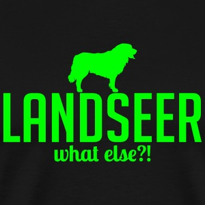 Landseer whatelse - Premium T-skjorte for menn