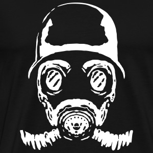 005 gasmask 23 - Men's Premium T-Shirt