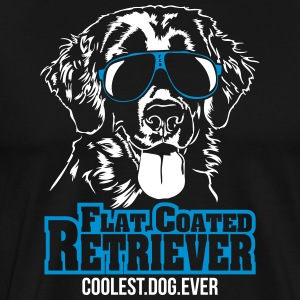 PLAT COUCHÉ plus cool chien RETRIEVER - T-shirt Premium Homme