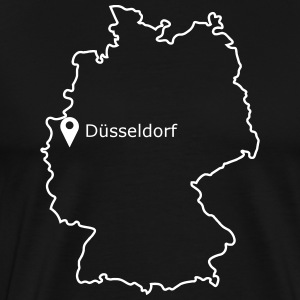 place to be: Dusseldorf - Men's Premium T-Shirt