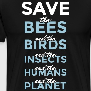Safe ... and the Planet - Men's Premium T-Shirt