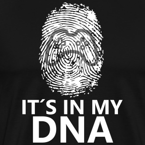 Het is in mijn dna - Mannen Premium T-shirt