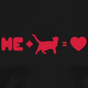 I love my cat - Männer Premium T-Shirt
