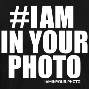 I AM IN YOUR PHOTO Sweater - Mannen Premium T-shirt