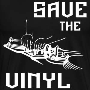 Save the vinyl - Men's Premium T-Shirt