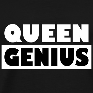 Queen Genius - Premium T-skjorte for menn